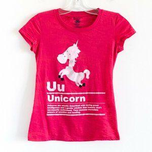 🌺2/15$ Unicorn alphabet kids t-shirt graphic tee